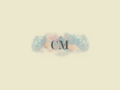 'Carla Marie Make-up' business card logo