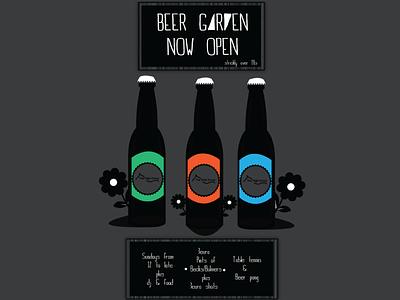 'Beer Garden' ad