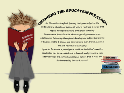 'Changing The Education Paradigm' -  Back Cover