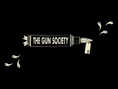 The Gun Society - Strikes Back (Again) society digital illustration pain hurt art violence gun
