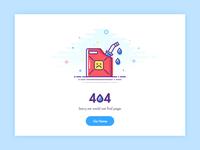 404 Error Page - oil
