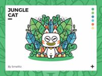 Jungle Cat Illustration