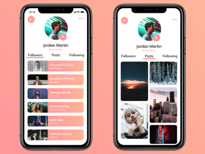 Switch — The missing social aspect ux design ui design braxton huff gradient product design user interface user experience ux ui ios