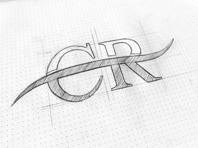 Logo Carillon Riverside Sketch branding logo brand symbol lettering typography calligraphy typeface logotype hand drawn sketch
