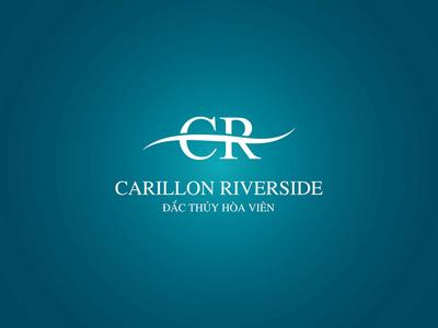 Logo Carillon Riverside Fianl branding logo mark brand symbol lettering typography typeface hand logotype font type