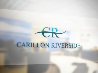 Logo Carillon Riverside Mockup branding mockup deisgn logo type typeface logotype mark typography symbol monogram font