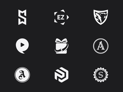 Symbol Logo Design lettering monogram identity branding design creative icon symbol mark logotype logo
