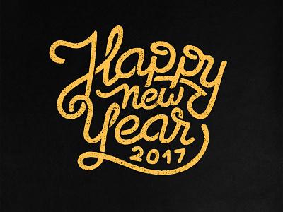 New Year 2017 newyear type typo 2017