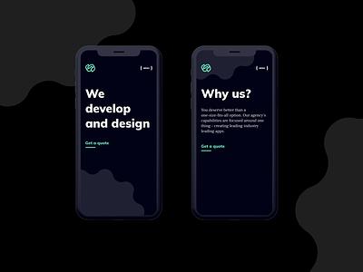 Strides Agency Website figma branding logo design ui design web design