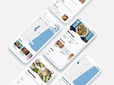 FlipFlops Food Delivery App design ui product design ios ux design ui design iphone x app design figma