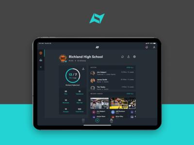 Next Level Sports ux design ui deisgn app design ios ipad app