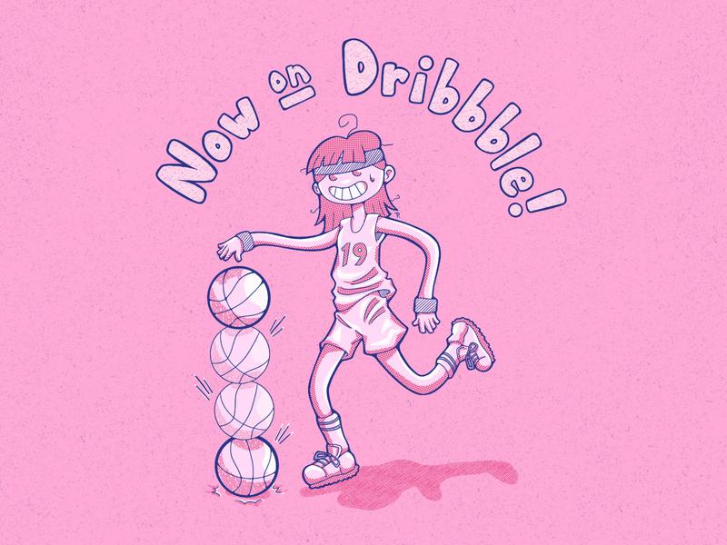Look Ma, I'm on Dribbble! procreate art procreate app character design digital art digital illustration cartoon illustration cartoon character illustration