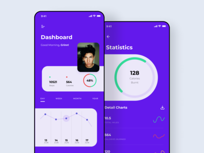 Fitness App Dashboard