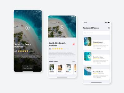 The Travel UI App