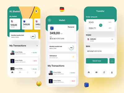 finance : mobile banking app financial product design ios finance bank app  design wallet app financial app fintech app mobile app app design fintech finance app banking app mobile bank
