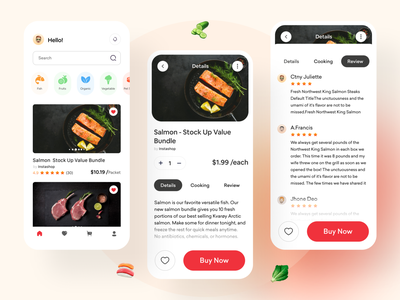 Food Delivery service - Application App app concept ios product design app design ecommerce app food delivery app food mobile app uiux chef app restaurant app recipe app food and drink order food delivery app food app