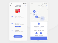 Food App Order Tracking  & Delivery