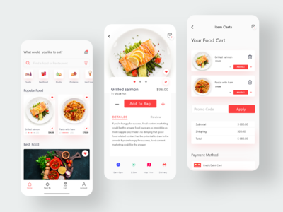 Restaurant Food Application