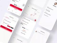 Mobile application - Delivery app ux design app concept product design app designer mobile ui ios food delivery app driver app delivery app ui design interaction animation app design app