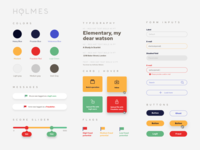 holmes styleguide form interface ui design ui security design system styleguide
