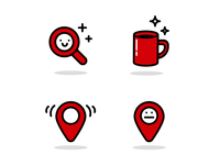 location app icons
