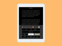 reading app settings (daily ui)