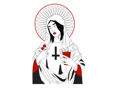 Saint Bloody Mary, Patron of pizza