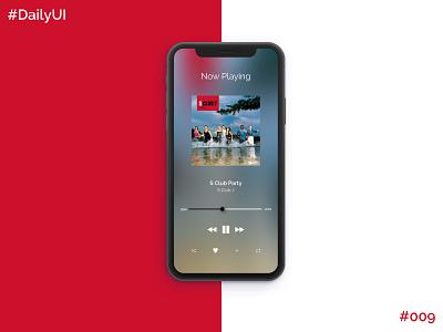 Daily UI Challenge #9 Music Player music ui music player app music app music player ux app app design app concept ui dailyuichallenge dailyui