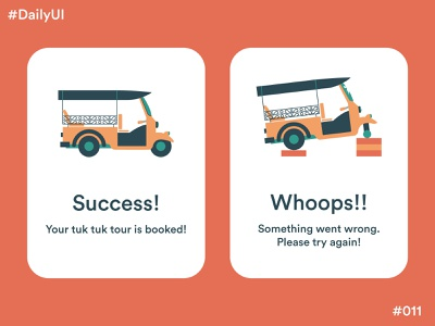 Daily UI Challenge #11 Flash Message vector illustration app design app concept app design ux ui dailyuichallenge dailyui