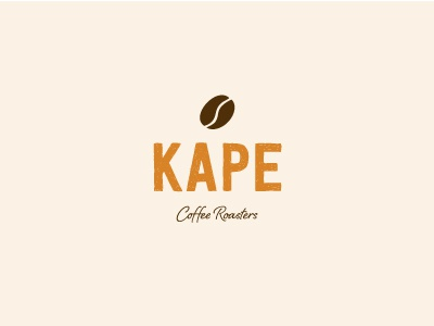 KAPE Coffee Roasters coffee logos