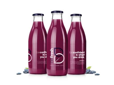 Befresh Brand Identity – Juice Bottle
