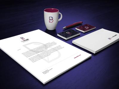 Befresh Brand Identity – Stationery business card logo design brand identity mug envelope icon letterhead stationery logo branding brand
