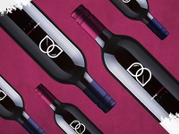 Befresh Brand Identity – Kombucha Bottle logo design brand identity berries berry packaging bottle wine kombucha logo branding brand