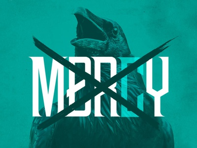 NWB Marvis Display Pro Typeface –No Mercy