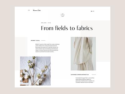 Massimo Dutti Concept #1 layout retail fashion e-commerce design app design ui design