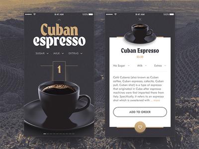Grind House Coffee Ordering App #1