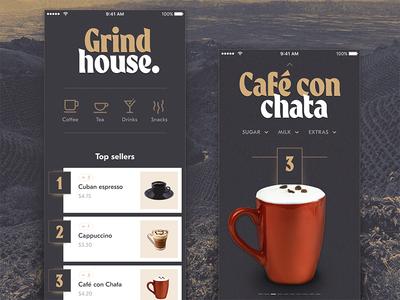 Grind House Coffee Ordering App #2