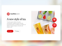 Royaltea Website