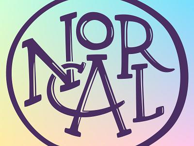 Nor Cal nor cal norcal ca california hand lettering branding typography logo