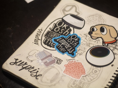 Josh.ai Laptop Stickers