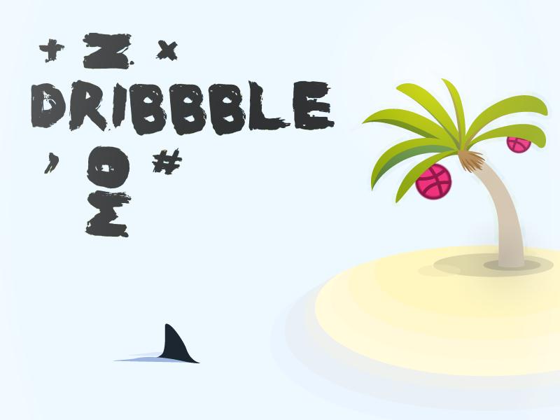Debut Shot - Hello Dribbble illustration dribbble hello