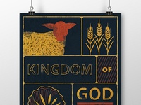 Kingdom of God Sermon Poster