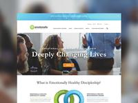 EHS Homepage Design