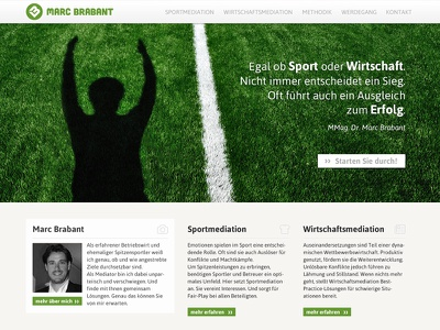 Marc Brabant Mediation Coach design development