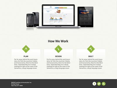 media agency website draft webdesign website agency