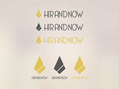 Hirandnow Logo minimal identity brand logo