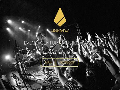 Hirandnow Website website webdesign brand temporary
