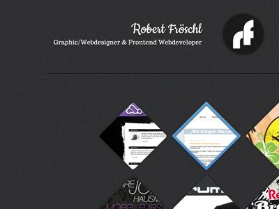 portfolio redesign idea webdesign website portfolio minimal
