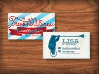Tremendousness Biz Card WIP
