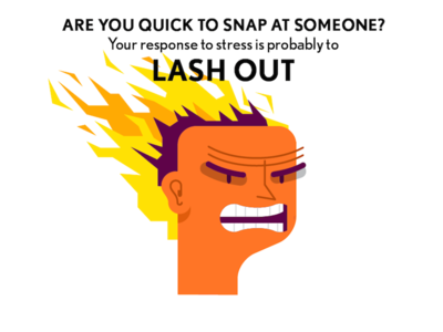 Lash Out illustration person people angry fire